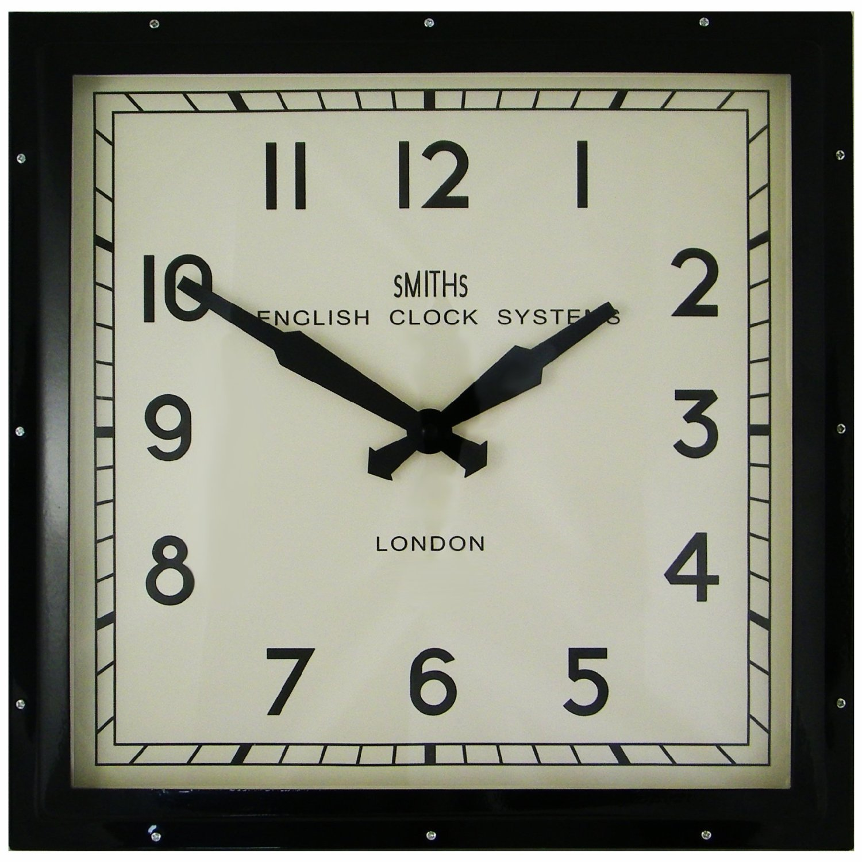 White Vintage Kitchen Clock
